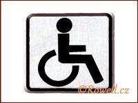 NO cedulka stříbr. 'Invalida' rowell