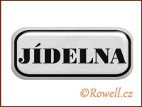 NSD stříbrný 'Jídelna' rowell