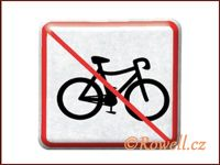 NZ 'Zákaz kolo' /stříbrná/ rowell
