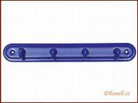 H4 Čtyřháček modrý / modrý rowell