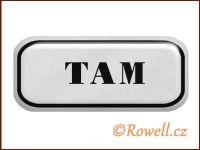 NSD stříbrný 'Tam' rowell
